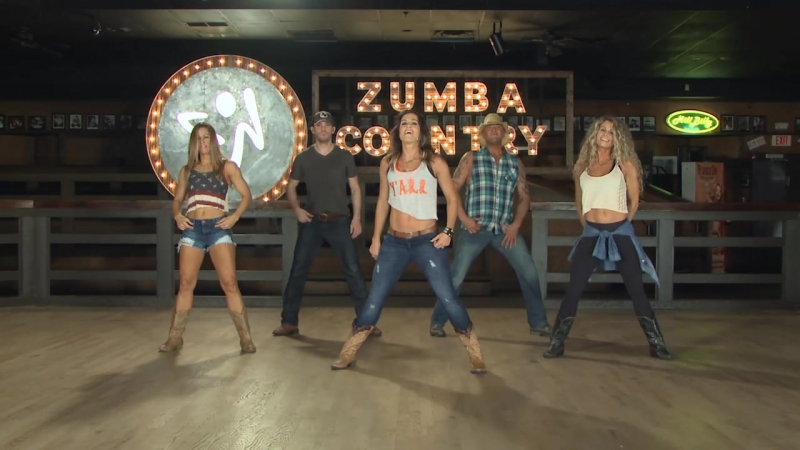 Zumba Country - 04 All Amercian Country Girl - Country - Cues On