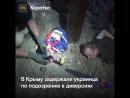 В Крыму по подозрению в диверсии задержали украинца
