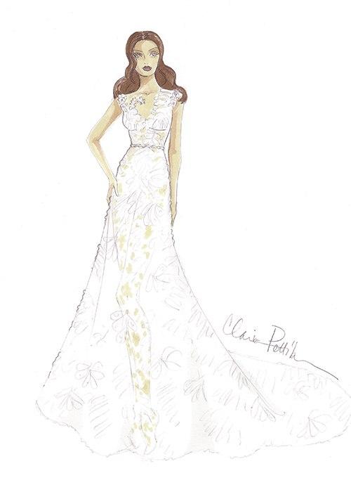 Концепции свадебного платья 2017 (15 фото)