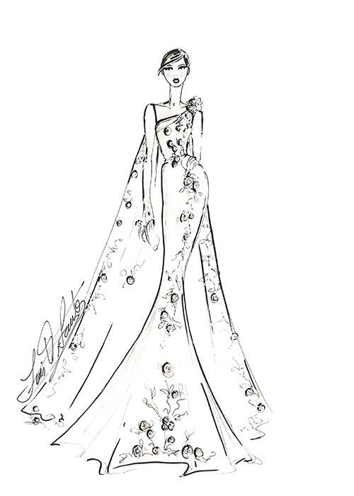 AJQE EJ UKA - Концепции свадебного платья 2017 (15 фото)
