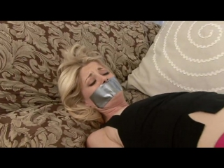 Charlotte Stokely bound and gagged