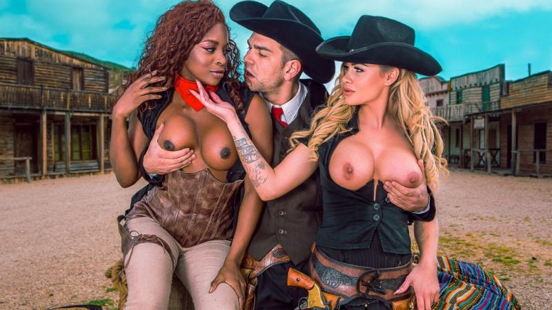 Jasmine Webb, Jessa Rhodes, Scene 5 [HD 720, Big Tits, Ebony, Interracial, Lesbian, Rough Sex, Deep Throat, Threesome]