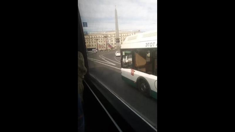 еду автобус