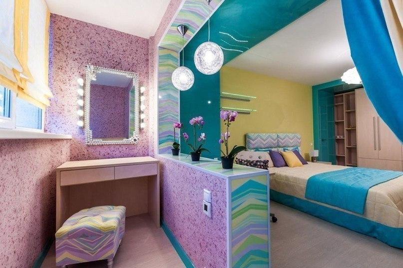 Идея объединения комнаты и лоджии