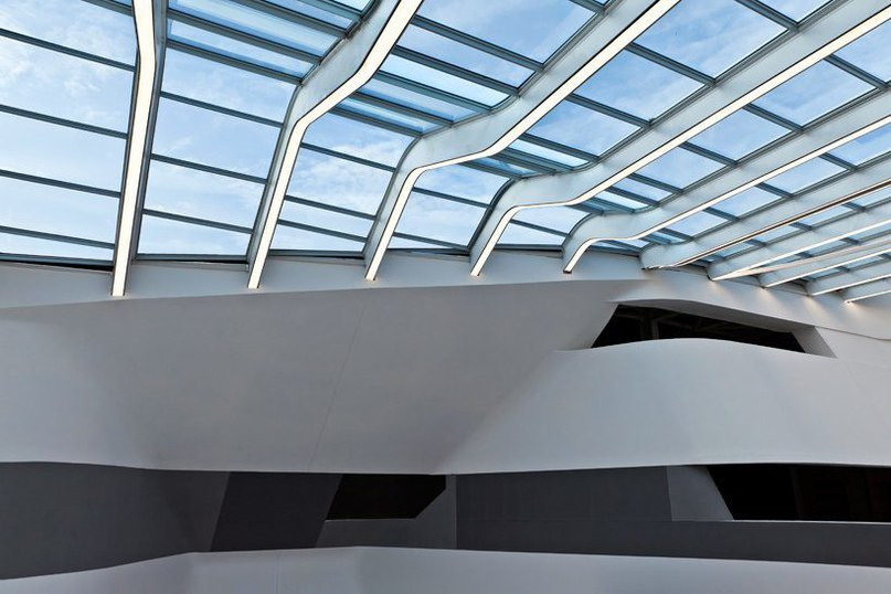 Zaha Hadid's 'napoli afragola station' inaugurates initial phase of completion