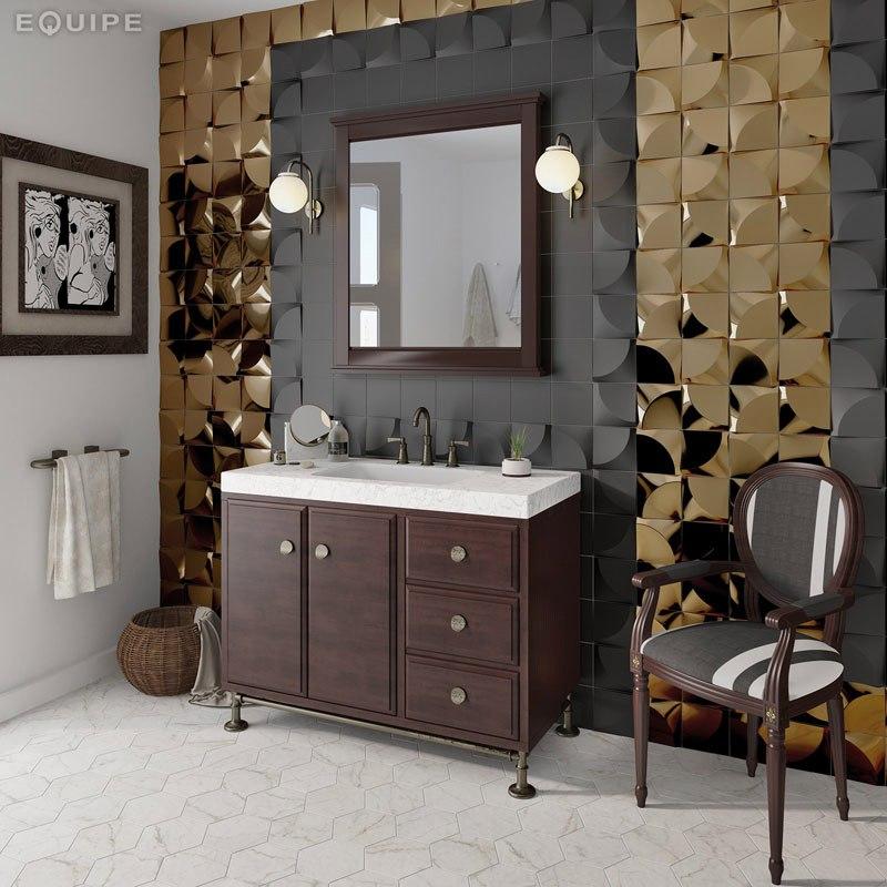 Ванные с 3D-плиткой