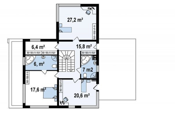 Комфортный особняк в современном стиле