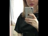 Топ с пышным рукавом и юбка в цвете хаки от Марии Воронцовой
