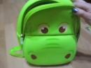 Обзор рюкзака Nohoo - Зелёный бегемотик
