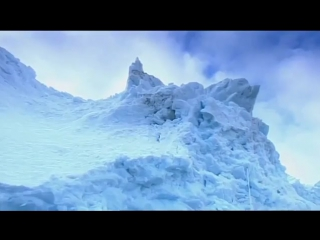 Они решили полюбоваться ледником