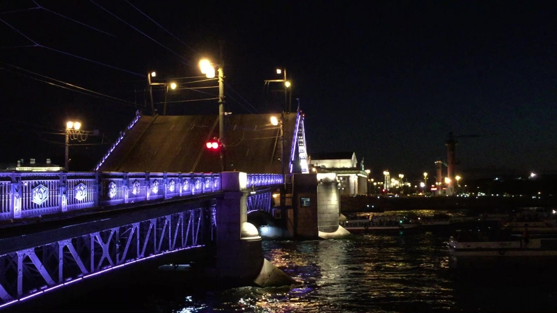 Разводка Дворцового моста