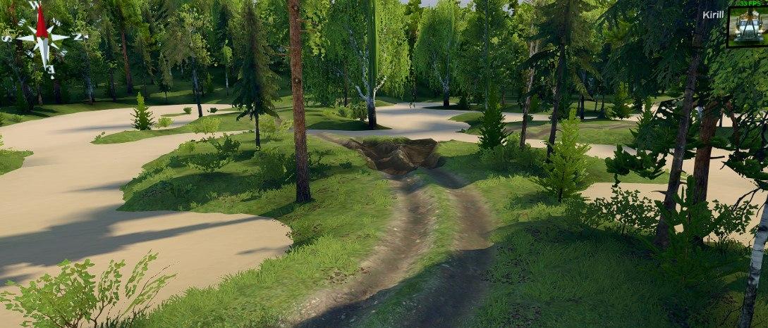 Карта «Объезд» для Spintires - Скриншот 3