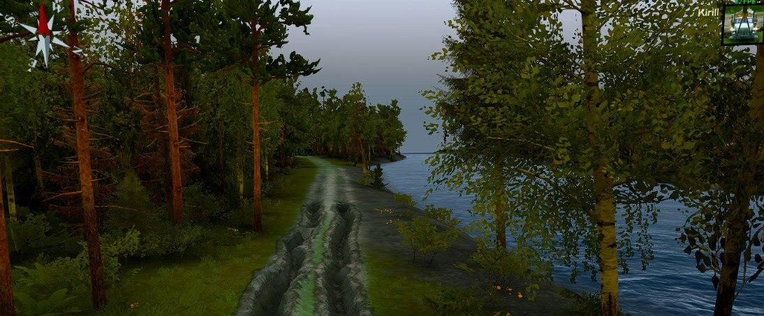 Карта «Лес Чудес» для Spintires - Скриншот 1