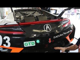 IMSA: Acura NSX GT3 Tech Tour