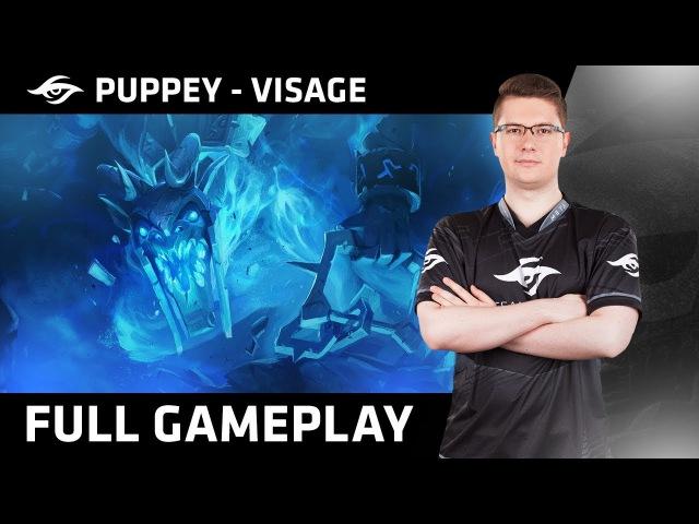 Dota 2 | Team Secret™ - Puppey Plays Visage | Ranked MMR Gameplay