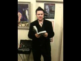 Ryan Wildstar reads from 'And What About the Bells' at art exhibit in Rozz Williams honor