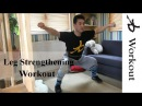 10 Min Leg Strengthening Workout Shaolin Kung Fu