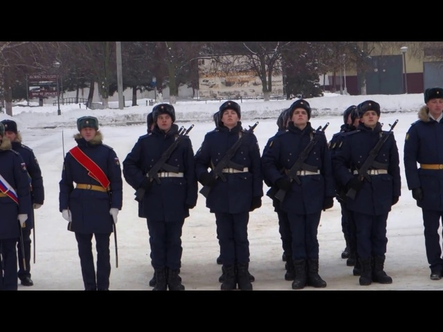 Белгород в/ч 20925.Присяга.17.12.2016.ТОРЖЕСТВЕННЫЙ МАРШ.
