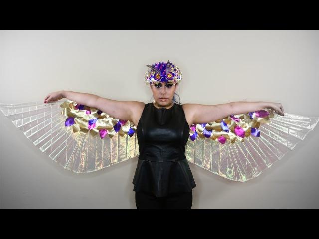 Lamé Wings ♥ DIY