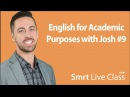 Reading Academic Vocabulary English for Academic Purposes with Josh 9