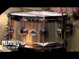 DW 14 x 6.5 Collector's Series Bronze Snare Drum - Knurled Finish