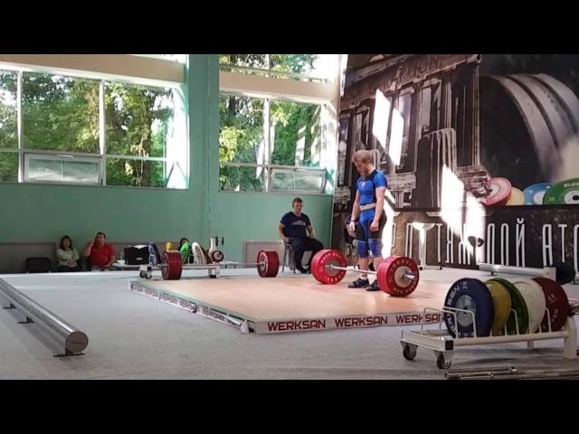 Виктор Гетц Гран при Гераклион Путь к Олимпу по тяжелой атлетике толчок третий п