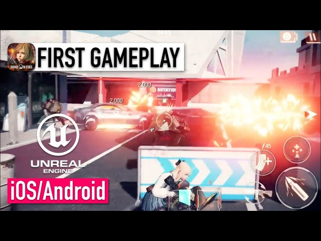 A.V.A: Guns on Fire - iOS / Android - FIRST GAMEPLAY (Unreal Engine 4)