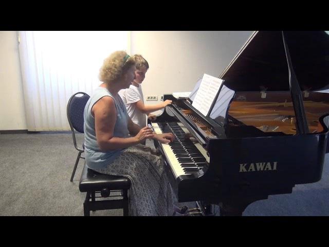 13.07.2017 Mira Marchenko's master-classes. Rodion Schakirov. Trogir Town Hall, Croatia