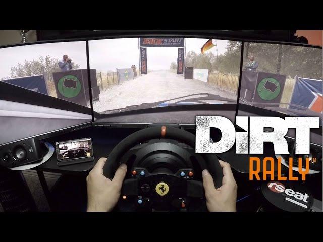 Dirt Rally | Thrustmaster TX base - Ferrari 599XX EVO 30 Rim | Using Shifter as Handbrake