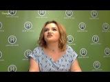 Онлайн-конференция с Аней (Хомяком) Савенец - Победительница Від пацанки до паня ...