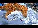 LEGO Jurassic World - Indominus Rex VS T-Rex Ending Full Battle