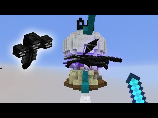 ЧТО БЫЛО БЫ, ЕСЛИ БЫ БОССЫ МАЙНКРАФТА ИГРАЛИ В БЕД ВАРС? - (Minecraft Bed Wars)