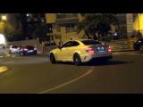 Mercedes C63 AMG Black Series Action! Loud Revs, Burnouts & CRAZY POWERSLIDE!