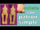 Culete de muñeca con patron simple manualilolis video 297