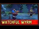 Вард Watchful Wyrm - The Kiev Major - Battle Pass 2017 - Дота 2