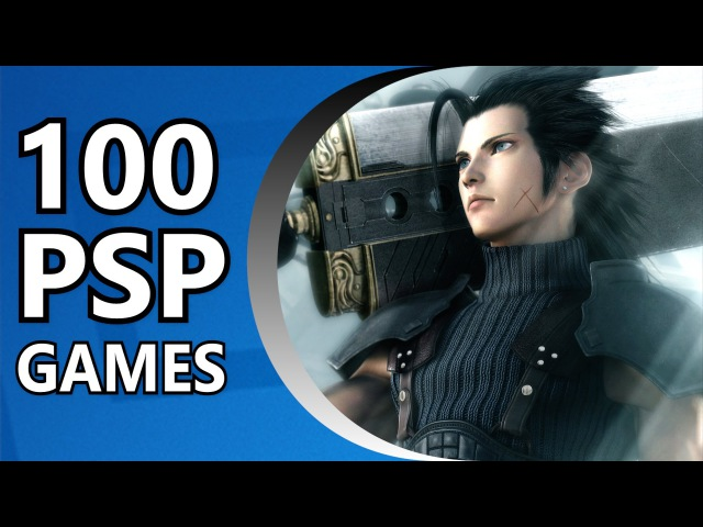 Top 100 Best PSP Games (Random Order)