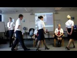 Training as british airways cabin crew