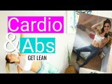 Лучшая Домашняя Кардио Тренировка и Пресс Для Стройности. Best Workout for Cardio & Abs at Home to Get LEAN! | Rebecca Louise