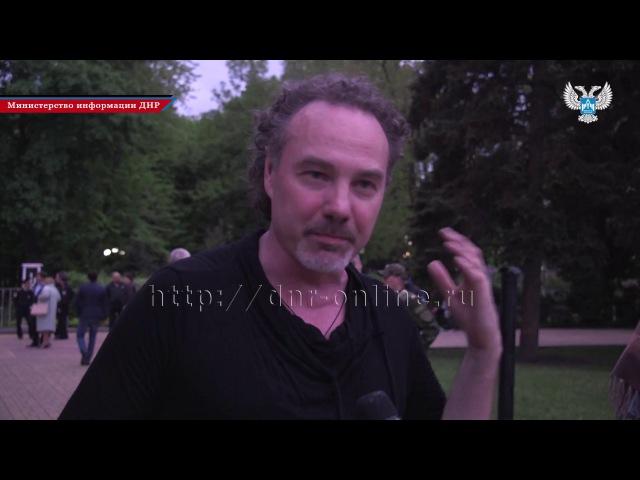 Алексей Поддубный «Джанго» на концерте в Донецке. 9 мая 2017