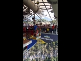 Прыжок с тарзанки 69 м. Сочи, скайпарк