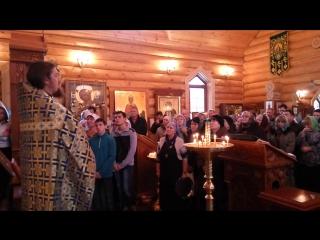 Проповедь о. Георгия (Иванова) Введение во храм Богородицы
