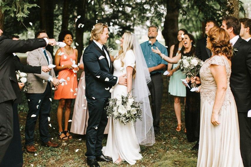 0CcfACdO6g0 - Свадьба в изысканном стиле (30 фото)
