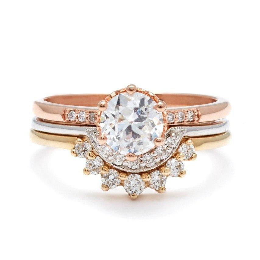 Обручальные кольца 2017: лучшее (21 фото)