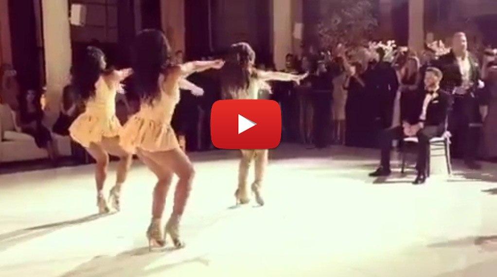 U57qyW 99ns - Зажигательный танец невесты в подарок жениху (видео)