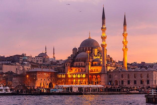 Направление свадебного путешествия: Стамбул