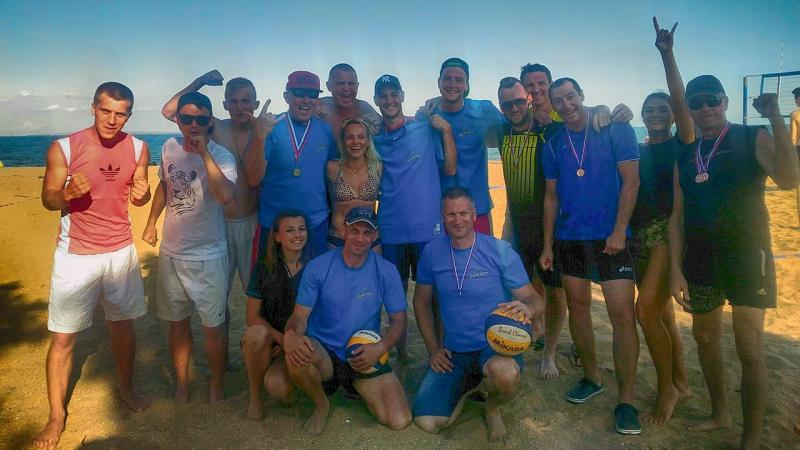 120617 Открытие пляжного сезона Волейбол в Керчи