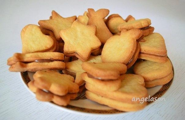 Печенье из песочного теста рецепты формочки