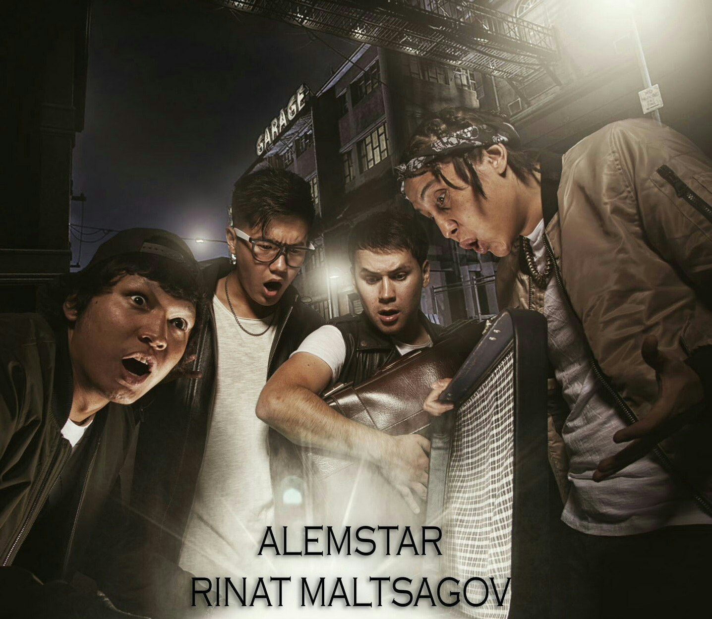 ALEMSTAR & Ринат Малцагов - Ұмытпа (2016)