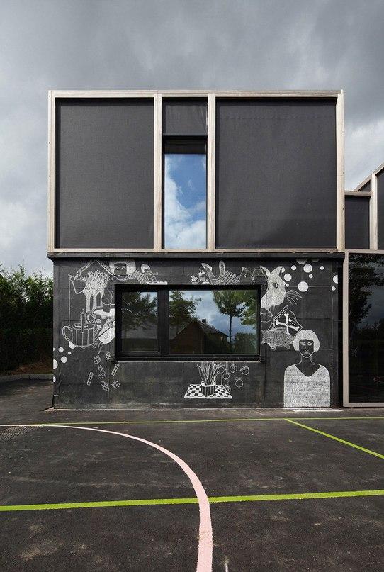 Дом для детей в Бельгии
