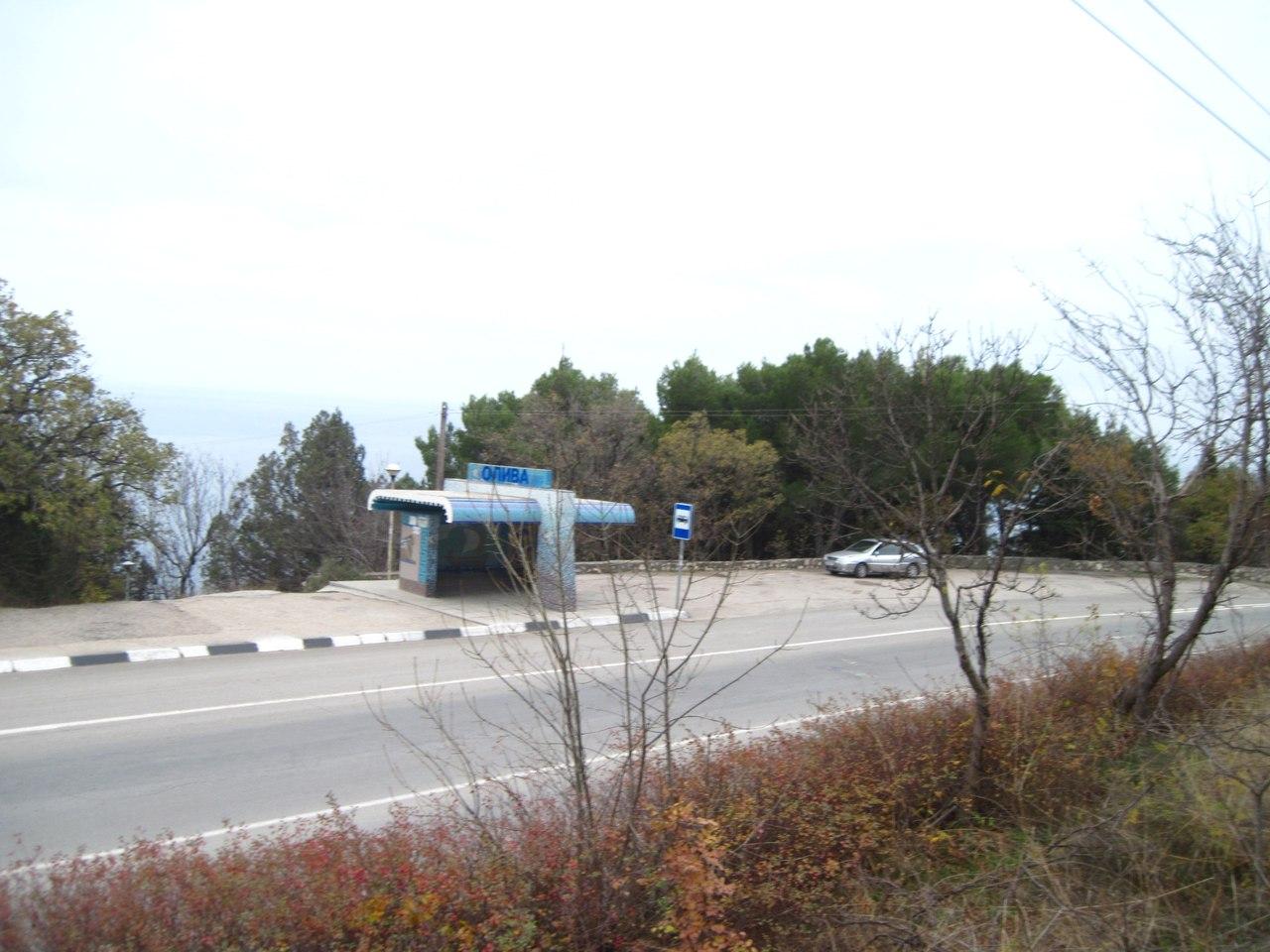 остановка Олива